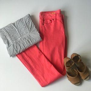 J. CREW MATCHSTICK Jeans Sz 25